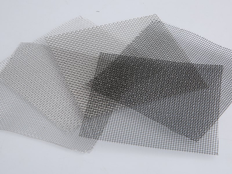 There are several screen mesh sheets.