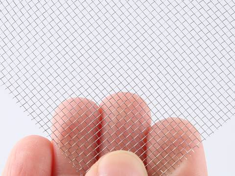 There are two 316L stainless steel screen mesh sheets.