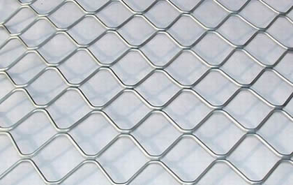 Anti Theft 7 Mm Aluminum Diamond Pattern Security Grilles
